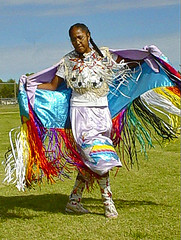 Shawl Dance (frank thompson photos) Tags: dance indian nativeamerican kansas shawl medicinelodge worldtrekker