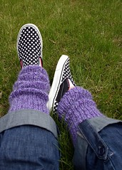 Vans and legwarmers- a match made in heaven :-)