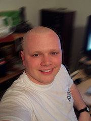 Me Bald (drapelyk) Tags: shaved bald shavedhead baldy drapelyk