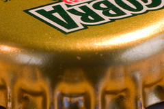 crown (*Hairbear) Tags: macro beer canon cobra 300d crown extension canon50mmf18 bankholiday lager sundayafternoon kenko kenkoextension tubestubebottletopbottletop