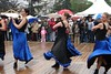 Dancing French Can Can in the rain (Julie70 Joyoflife) Tags: people france dance costume 2006 festivity fête argenteuil 1mai 1may copyrightjuliekertesz 1may2006 frenchcancan httpwwwdailymotioncomjulie70video147918 videoatahrefhttpwwwdailymotioncomjulie70video147918wwwdailymotioncomjulie70video147918a 1maiargenteuil photojulekertesz