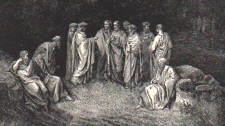 the sin of the wrathful hoarders and wasters in dante alighieris the inferno Start studying the inferno by: dante alighieri circle four is populated by hoarders and wasters (represented by dante/everyman) through the world of sin.