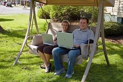 Wireless computing couple