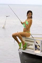 Topless Fishing (jetrotz) Tags: geotagged model women topless swimsuit ✔ binkini geo:lat=24623456 geo:lon=81400312