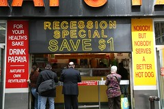recession hot dog