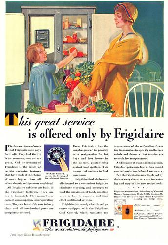 Frigidaire Advertisement