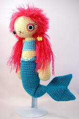 mermaid1 (ElisabethD) Tags: cute toy stuffed doll softie mermaid amigurumi crocheted gourmetamigurumi