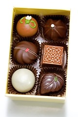 """English Garden"" truffle collection (Heather Leah Kennedy) Tags: food dessert tea sweet chocolate truffle truffles englishgarden moonstruckchocolate moonstruck moonstruckchocolates"