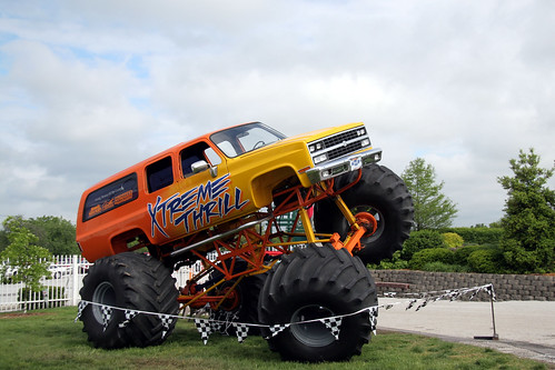 Monster Trucks Extreme Orange by Ben_Nelson.