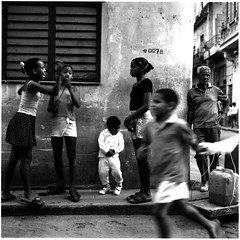 Havana (jeffal66) Tags: bw film children havana cuba streetscene hasselblad ilford rateme110 123bw been1of100bw 0078 bendinglightfeaturedphotoapril bl426
