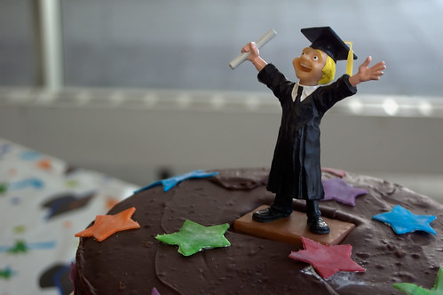 Graduation Cake Guy by CarbonNYC