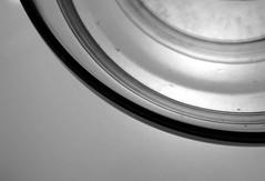 SoHo's Rings (eyewashdesign: A. Golden) Tags: city nyc newyorkcity light urban blackandwhite bw white black art texture glass retail contrast golden artwork bowl 2006 minimal simple minimalist toddoldham alane alanegolden eyewashdesign