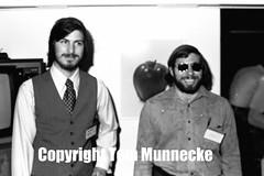 Steve Jobs, Steve Wozniak 1977