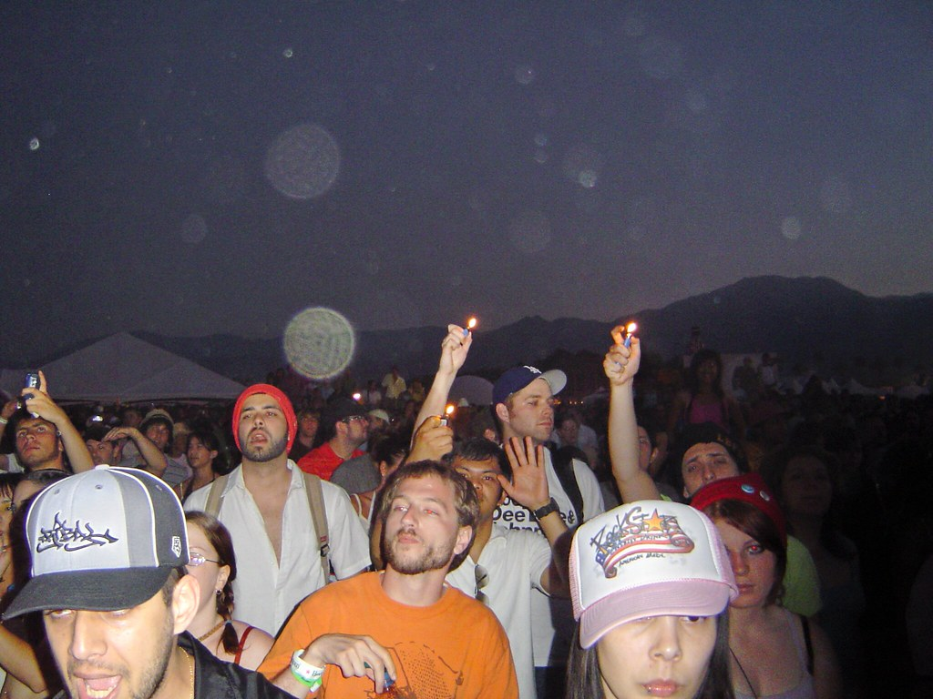 Damian Marley Crowd