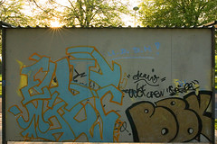graffiti sunset (labrat) Tags: sunset canon graffiti eos300d labrat sigma28mmf18dg