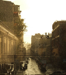 rain + sunset = magic moment (SV -->) Tags: sunset rain twilight moscow fujifilm f11