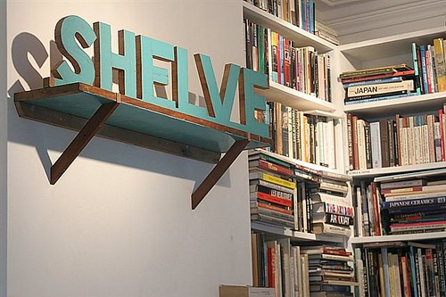 shelve at cross arts
