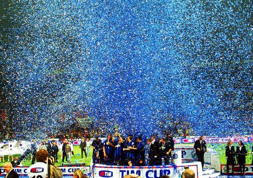 Consegna_Coppa_Italia. Inter-Roma 11/05/2006