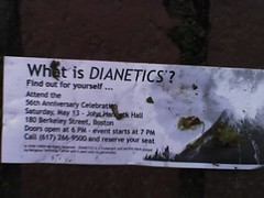 Dianetics Flyer