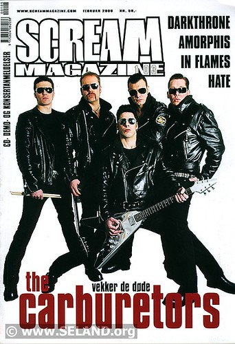 Scream Magazine cover page