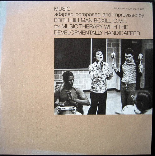 Music Therapy With The Developmentally Handicapped (Folkways)