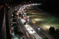 Avenida Atlntica Copacabana Rio de Janeiro noite tranquila - quiet night (seLusava) Tags: cidade rio brasil riodejaneiro de hotel photo janeiro cidademaravilhosa images copacabana fotos nightshots maravilhosa atnight winning atlantica pestana selusava premiadas selusavaimages noite rio2016 flickstackr