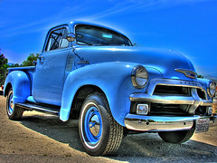 ain't got nothin' but the blues (Kris Kros) Tags: california ca old blue usa classic chevrolet public car cali photoshop truck vintage photography la us losangeles interestingness high cool interesting nikon pix dynamic cs2 antique bluesky ps socal chevy coche valley kris range hdr simi simivalley kkg bluecar 3xp interestingness6 photomatix pscs2 kros jdj kriskros kk2k bestofblue kkgallery