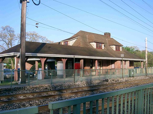 Oakdale LIRR Train Station