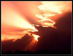 Tehran Sunset (Hamed Saber) Tags: sunset sky orange cloud sun topf25 sunshine topv111 sunrise geotagged persian interestingness topv333 ray iran topc50 topc75 topv444 persia topv222 saber iranian tehran  oneyear hamed farsi    flickrexplore   topvaa  judgmentday55  cm084  abigfave