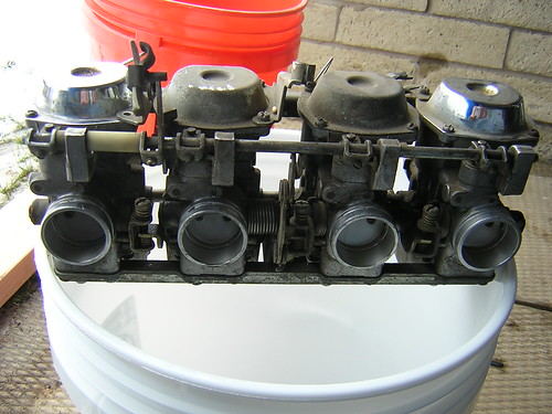 Yamaha Hitachi Carbs