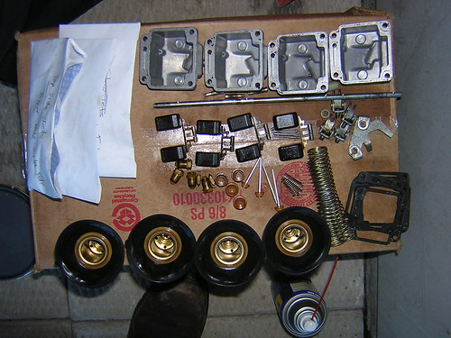 Carburetor internals organzied