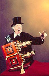 Terry Borton, Magic Lantern Showman