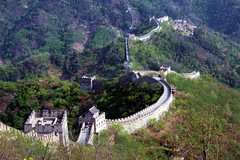 Another Brick in the Wall (Heaven`s Gate (John)) Tags: china vacation mountains green art history beautiful wall architecture wow interesting bricks chinese greatwall heavensgate greatwallofchina bluelist johndalkin
