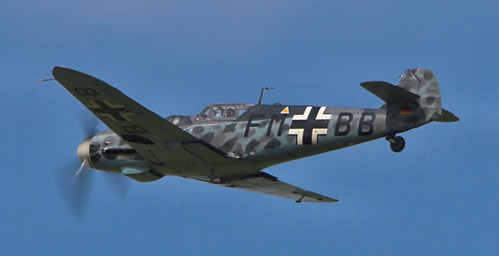 Warbird picture - Messerschmitt Bf-109 Fly-by