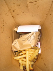 in the bag (amanky) Tags: food usa oregon dinner fastfood 2006 frenchfries potato fries blogged wendys togo whatsinyourbag reciept may22 thedalles paperbag brownbag whatieat may2006 whatieatdinner may222006 whatieatweek4 whatieatday23 frescata roastedturkeybasilpestofrescata roastedturkeybasilpesto msh0107 msh01071 whatsinyourthatbag whatsinthatbag