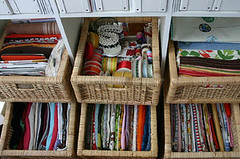 fabric baskets left - by Laurie | Liquid Paper