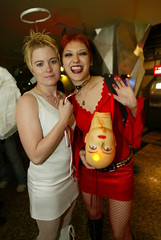 Angel_and_Devil (the Beijinger Magazine) Tags: show china new friends party people food art halloween bar night fun costume cafe bars beijing celebration   guide  expats celebrate foreigners  cafes  expat   foreigner             tbj   thatsbj