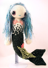 pthayla3 (ElisabethD) Tags: cute stuffed doll softie mermaid amigurumi crocheted gourmetamigurumi messagetopretty