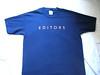 Blue Editors' shirt (Smeerch) Tags: blue shirt official bed blu tshirt shirts tshirts letto maglia editors ufficiale magliette maglietta maglie