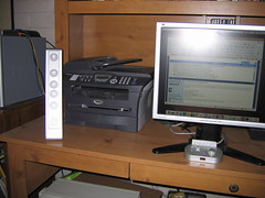 Printer (MFC), Speaker, Monitor (Scott Beamer) Tags: computer display printer scanner brother monitor speaker lcd speakers tft copier alteclansing fax mycomputer allinone viewsonic mfc fx6021 19inch vp191s 7820n mfc7820n