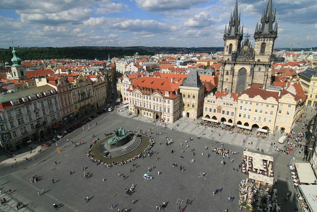 Beautiful Czech~~Old Town Square of Prague