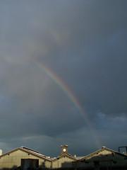 Fading away... (KatJaTo) Tags: rainbow arcenciel garesaintlazare