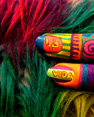 ViDa (-ViDa-) Tags: colors rainbow colorful paint finger vida fingerpainting