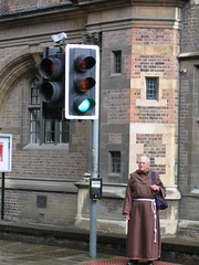 deus? (sr barao) Tags: cambridge god monk greenlight priest