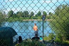 Frontier Switzerland - Austria (Kecko) Tags: summer lake geotagged austria schweiz switzerland see bath europe swiss sommer stmargrethen border bad kecko ostschweiz 2006 frontier hoechst lido hchst badi baggersee grenze bruggerhorn swissphoto geo:lat=47452525 geo:lon=9658651