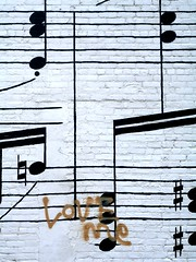 Once More With Feeling (Linus Gelber) Tags: music streetart minnesota graffiti mural notes minneapolis score loveme