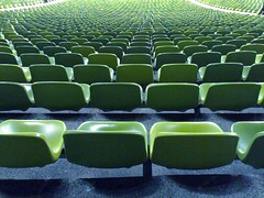 Seats in Green - Olympiastadium Munich