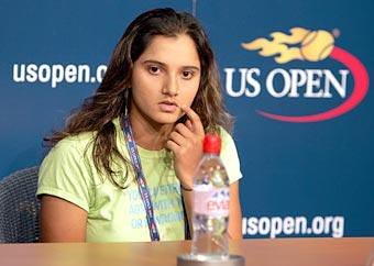 Sania Mirza at the US Open