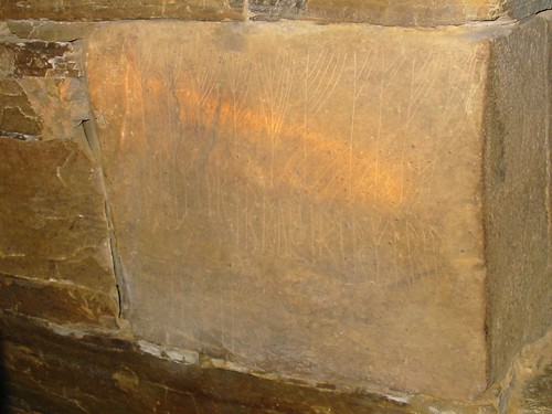 Graffiti inside Maes Howe