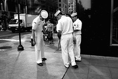 In Search of Something (|Shrued) Tags: nyc nycpb manhattan sailors gothamist fleetweek searching nap2007show